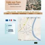 Lisle sur Tarn, Bastide albigeoise