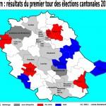 Cantonales 2011 dans le Tarn : les résultats complets du premier tour