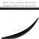 Fiac : AFIAC/Café/Performance : Capelle et Fontes