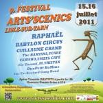 Lisle sur Tarn : J-14 pour l'édition 2011 du Festival Les Arts'Scenics