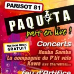 Parisot : Paquita Part en Live 2011