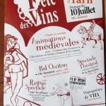 Lisle-sur-Tarn : 33ème fête des vins au temps du Moyen-Âge