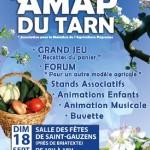 Saint-Gauzens : La fête des AMAP du Tarn