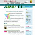 Tarn & Dadou met en ligne un site dédié à l'environnement
