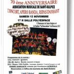 Saint Sulpice : Concert de l'harmonie de Saint-Sulpice