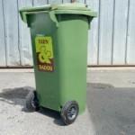 Conteneur individuel 120 L pour les déchets résiduels - Tarn & Dadou / © Ted
