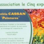 Rabastens : Exposition de Lætitia Cassan