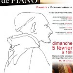Le Garric : Récital de piano de Bernard Arbus