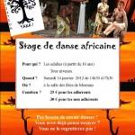Montans : Stage de danse africaine