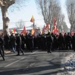 Manifestation contre la venue de Nicolas Sarkozy à Lavaur
