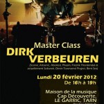 Le Garric : Master class avec le batteur Dirk Verbeuren