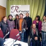 Gaillac : Inauguration des studios de la radio R d'autan