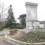 Saint-Juery : réaménagement du Monument aux morts