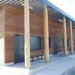 Dourgne : Visite du chantier du Collège Madeleine Cros