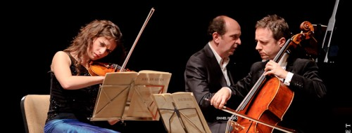 A Tempo 2012 - Liana Gourdjia, Marc Coppey, Denis Pascal  Laurent Smadja