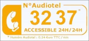 ResoGardes - Numéro Audiotel 32 37