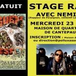 Albi : Stage de rap avec Némir