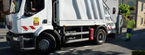 Camion de collecte des ordures / © Ted