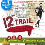 Lisle-sur-Tarn : Trail des Vignes et des coteaux lislois 2012