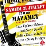 Mazamet : Festival Thoré du Rock?, 3ème édition
