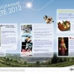 Le Garric : Programmation estivale 2012