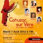 Cahuzac-sur-Vère : Concert d'art lyrique – Opéra Soleil 2012