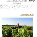 Lisle-sur-Tarn : Conférence de Robert Plageoles