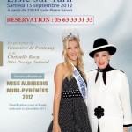 Lisle-sur-Tarn : Élection de Miss Albigeois-Midi-Pyrénées 2012