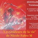 Rabastens : Les Couleurs de la Vie, Nicole Fabro M expose au Cinq