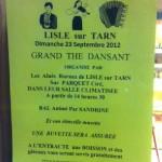 Lisle-sur-Tarn : Thé dansant