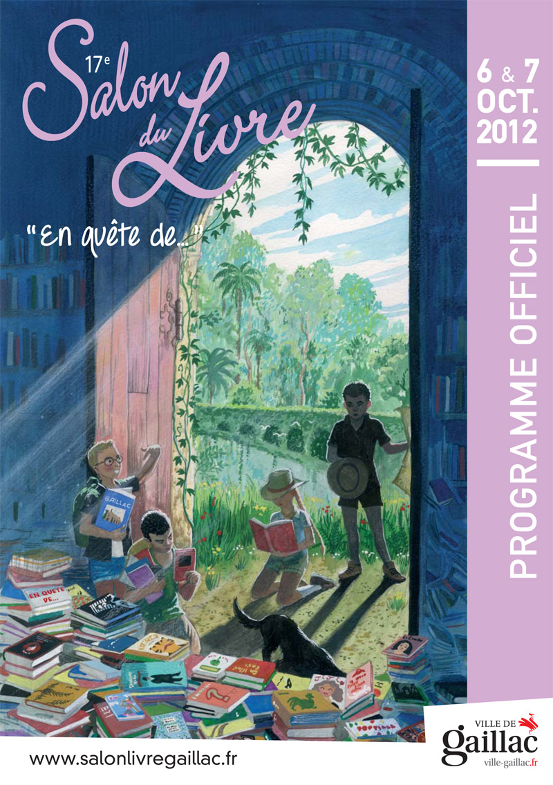 Gaillac salon du livre 2012 dans ton tarn for Salon du livre politique