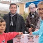 Graulhet : Quatre bougies pour le marché de la Place du Jourdain