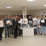 Formation : De nouveaux stagiaires diplômés au Pôle Automobile d'Albi