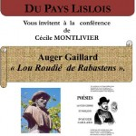 Lisle-sur-Tarn : Auger Gaillard, «Lou Rodié de Rabastens»