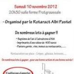 Albi : Loto Caritatif Rotaract Albi Pastel