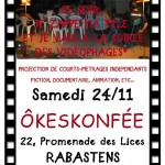 Rabastens : Projection de courts-métrages
