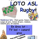 Lisle-sur-Tarn : Loto de l'ASL Rugby