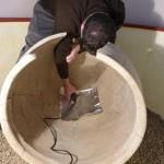 Montans : Prélèvements à l'Archéosite autour du projet sur la bière gauloise