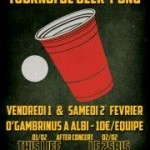 Albi : Tournoi de Beer Pong au bar « Ô Gambrinus »