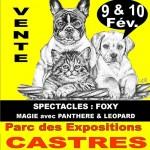 Castres : Animaliades, 2ème salon des animaux au Parc des Expositions