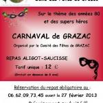 Grazac : Carnaval de Grazac 2012