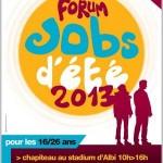 Albi : Forum des jobs d'été 2013 au Stadium