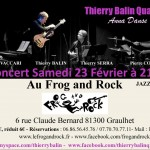 Graulhet : Thierry Balin en concert au Frog and Rock