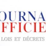 Journal Officiel de la République Française - Lois det Décret