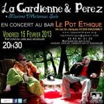 Mazamet : La Gardienne & Perez en concert au Pot Ethique
