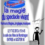 Montdragon : Spectacle de marionnettes tous public à la salle des fetes