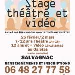 Salvagnac : Stage de théâtre enfants/ados au Galetas