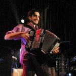 Saint Sulpice : Seul à l'accordéon, Florian Demonsant en concert à la Grange de Mondelle