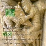 Fiac : De Nabulum, concert pour instruments médiévaux et électroniques