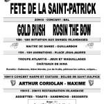 Saint Sulpice : Fête de la Saint-Patrick à la salle René Cassin